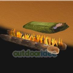 vuur maken met hout