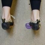voet plaatsing
