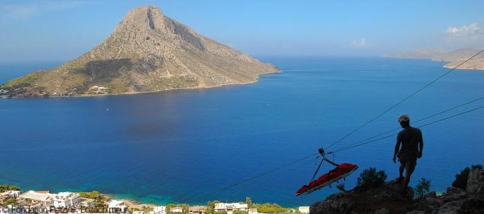 Reddingsdient op Kalumnos – Griekenland
