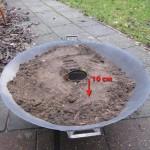 Teer of olie maken uit berken bast schors 03