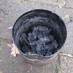 Teer of olie maken uit berken bast schors 13