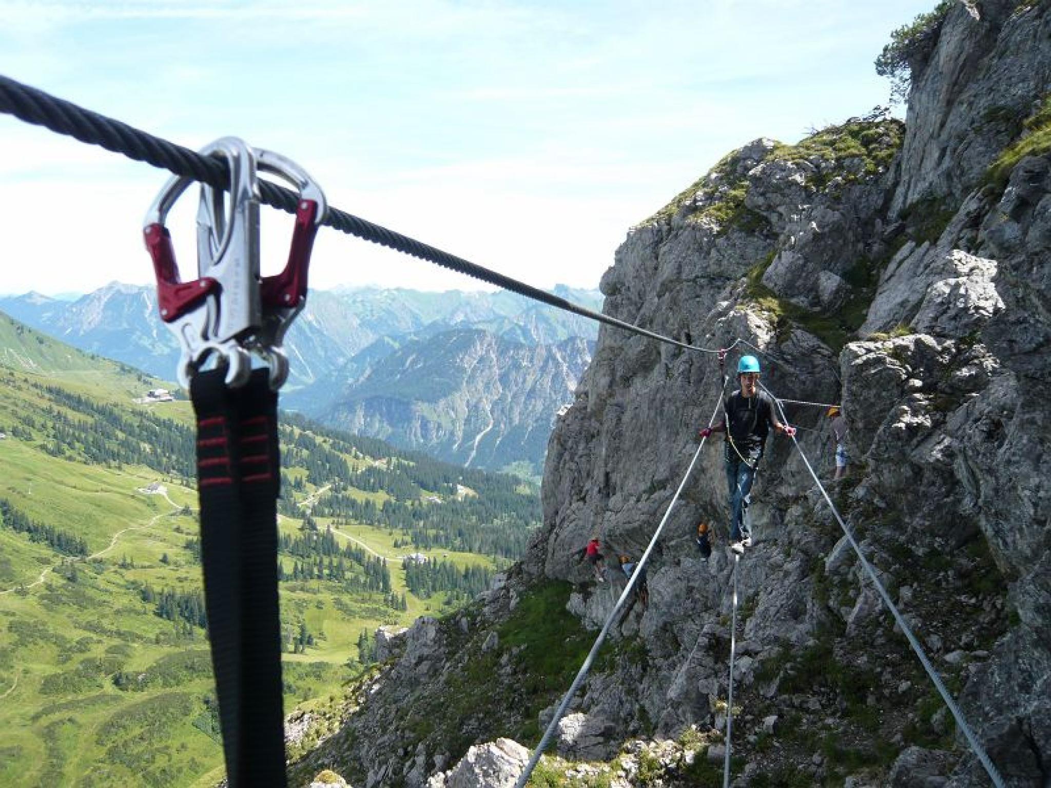 zwei länder klettersteig