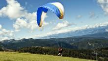 Paragliden in de bergen