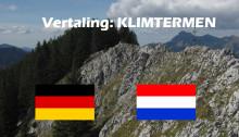 Vertaling klimtopo – Duits Nederlands
