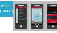 Maps offline gebruiken