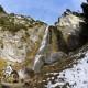 Klettersteig Dalf. Wasserfall