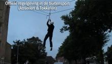 Officiële regelgeving Buitensport – Abseilen & Tokkelen